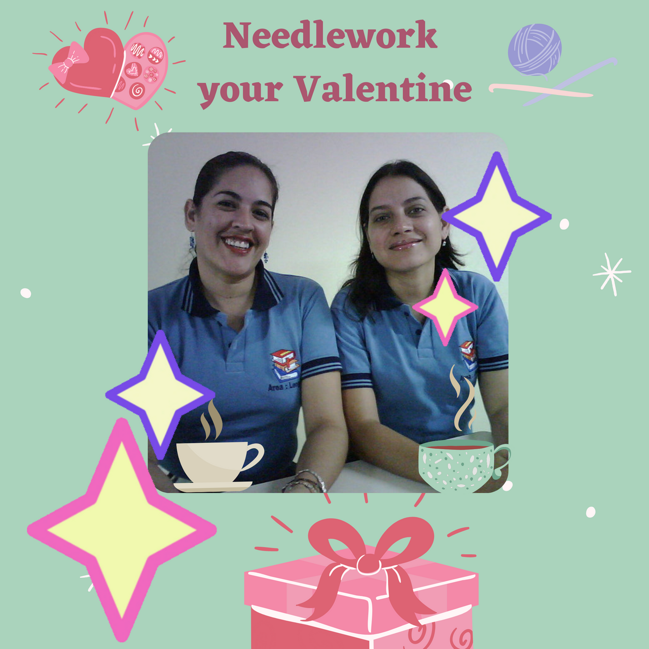 Ofertas San Valentín ilustración con regalos con fondo rosa Post para instagram (1).png