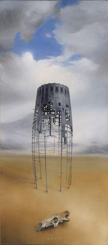 🎨 Memorial II - original painting (early works)