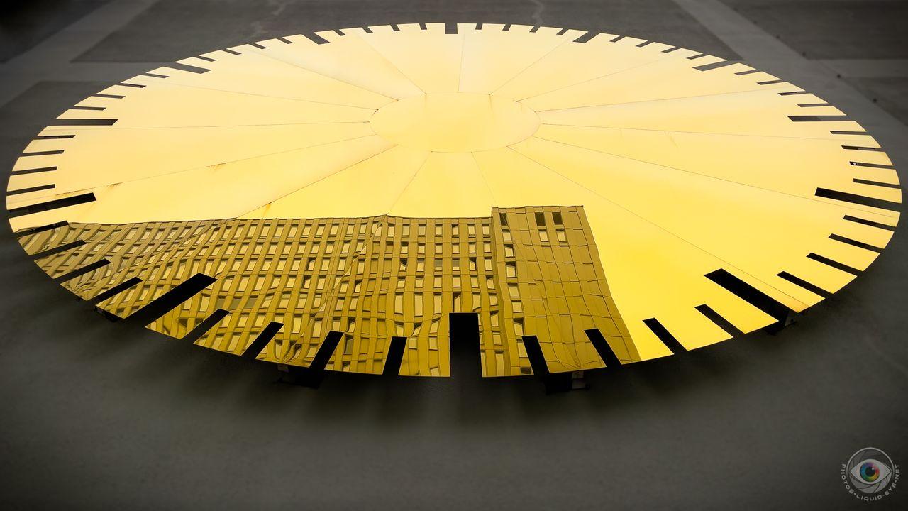 The Golden Hour Artwork Shape