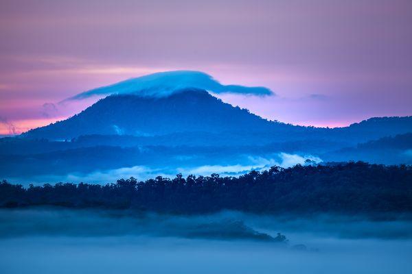 Wombanook Sunrise & Warrawolong Cap Cloud