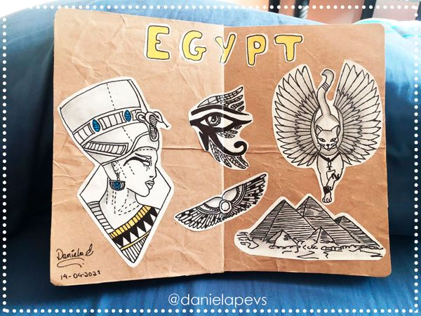 Egypt in my notebook