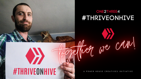 My Five for #thriveonhive by @dexpartacus