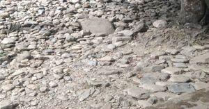 Rocky and sandy terrain