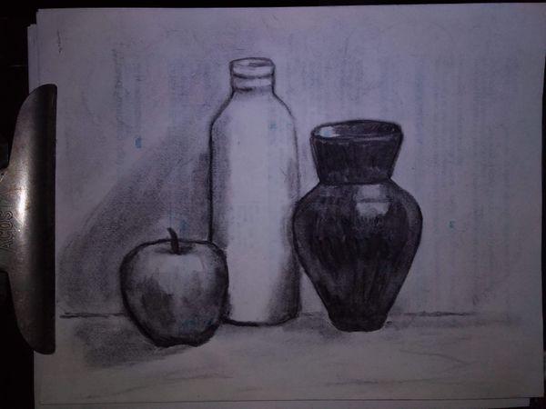 Otro ejercicio de dibujo siguiendo al maestro Yong Chen