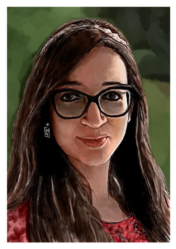 Digital Portrait Painting 🖌🎨