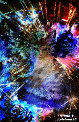 Digital Art: Between Stains | Entre Manchas