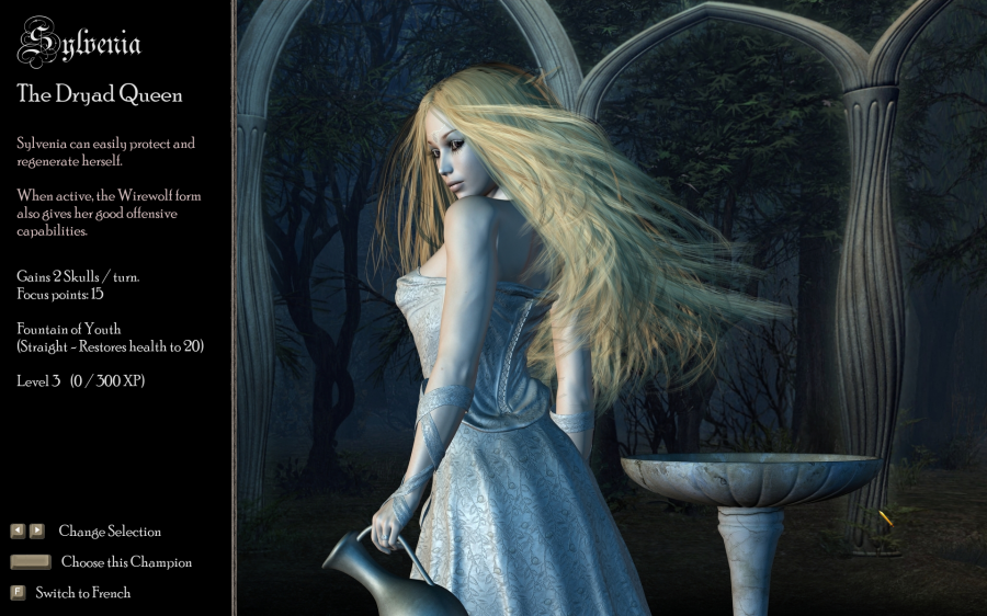 Sylvenia, another game was fully released! and played in Gamersgate + Impulse Stardock.