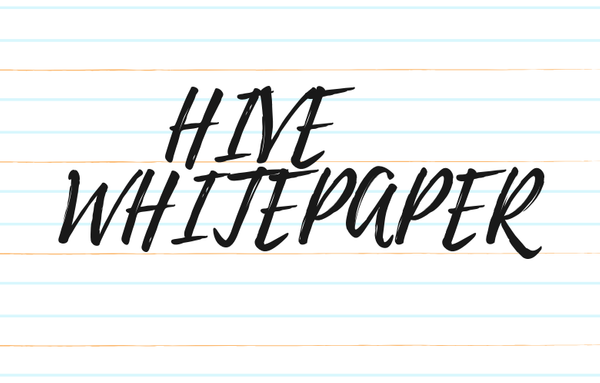 Hive Whitepaper