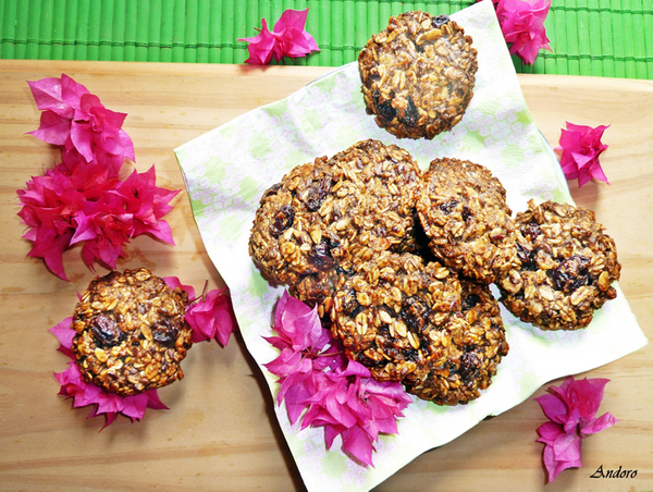 Qurator's: Hive Top Chef! / 😋🌼🍪 Galletas de avena sin huevo /  Oatmeal cookies  without egg 😋🌼🍪