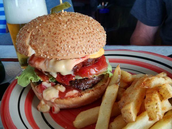 Hive Creative Contest - Moooo Cheese Burger