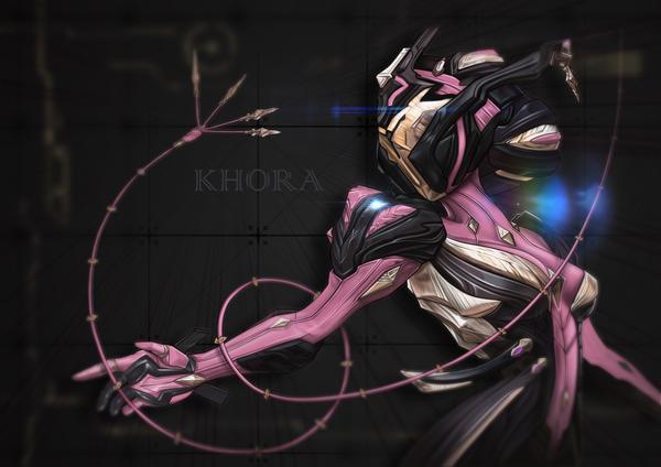 Khora Glitch Animation - Warframe fanart