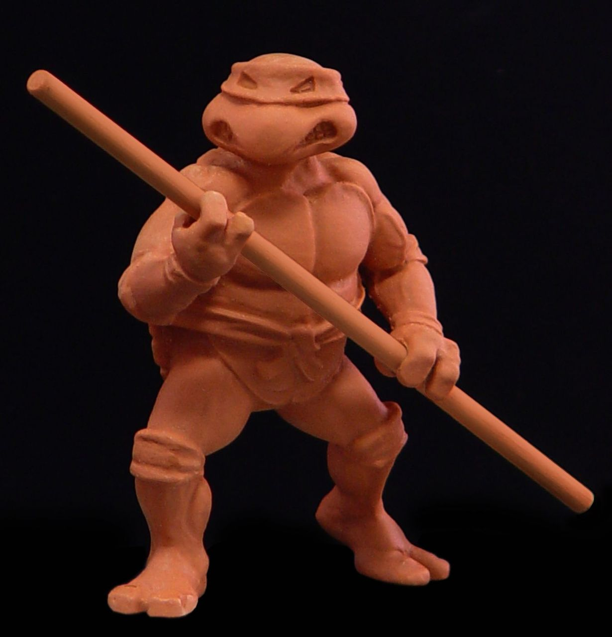 The very first TMNT clay sketch, 1987