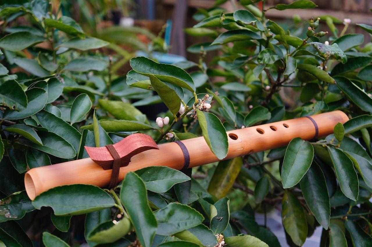 Native American Flute in Gm Pentatonic scale