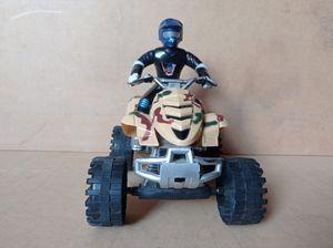Moto cuatro rueda - Motorcycle four wheel
