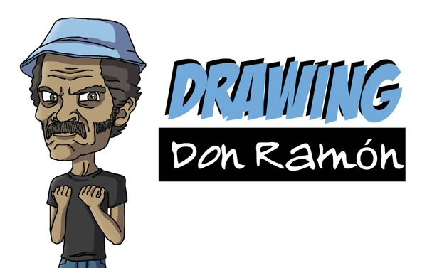 [ENG|ESP] Drawing Don Ramón | Dibujando a Don Ramón.