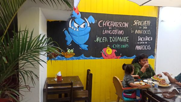 Seafood restaurant (Food review)