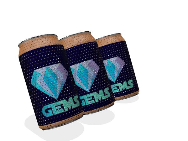 3D Can Concept Logo Gems / 3D Lata Concepto Logo Gems