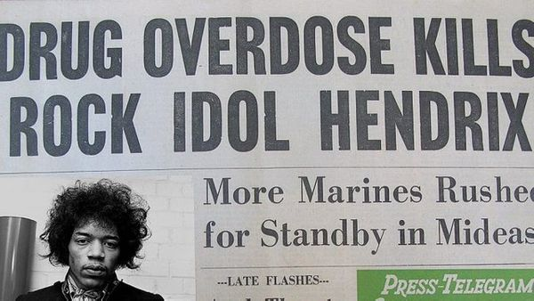 A Personal Note -- The New Socialism, the Death of Jimi Hendrix, and More