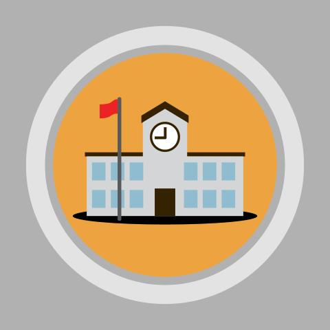 A school (icon)