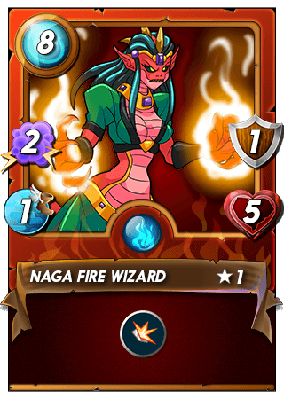 Naga Fire Wizard - Click Here to Buy the Card