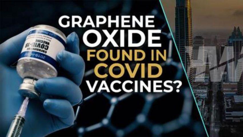 GRAPHENE OXIDE FOUND IN COVID VACCINES?