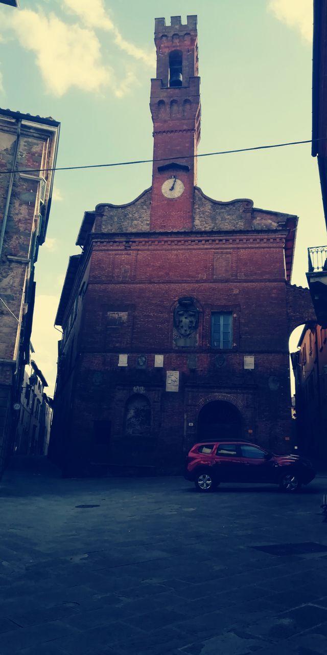 Old hidden church in the city