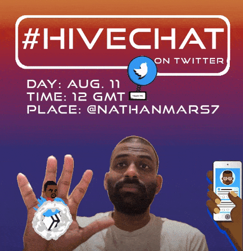 In 8 Hours Join the #HiveChat on Twitter With @nathanmars